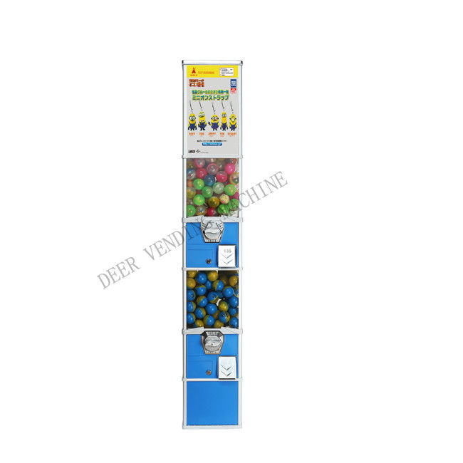 tomy gacha capsule vending machine parts 158cm PC metal different color for mall